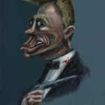 Bond Caricature