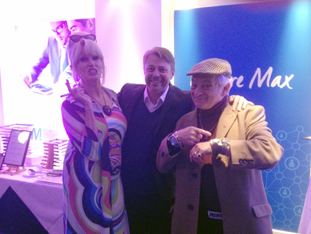 Delboy, Patsy and Facebloke